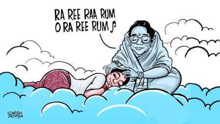 Sridevi tribute video, through cartoons!