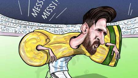Lionel Messi's World Cup jinx!