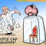 Bottle Cap Challenge in Karnataka!