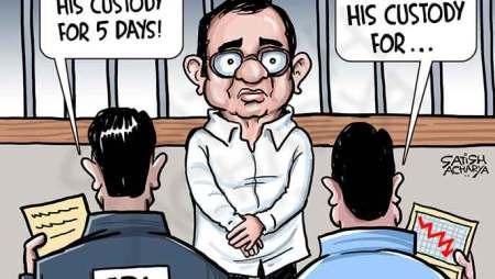 Chidambaram in CBI custody!
