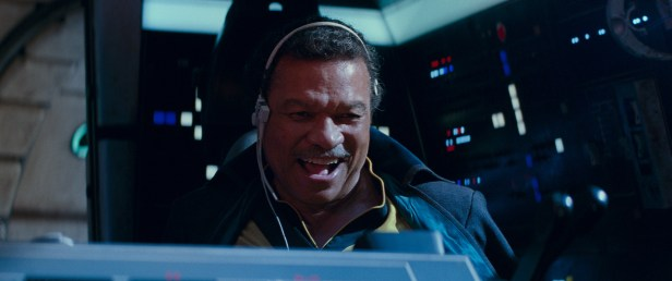Lando Calrissian (Billy Dee Williams) in STAR WARS: EPISODE IX.