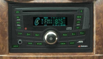 New Mahindra Scorpio 2-Din audio system photo
