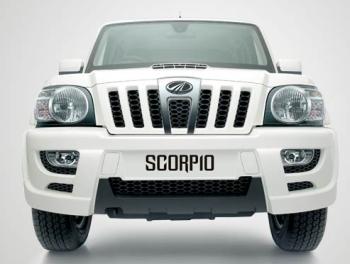 mahindra scorpio front photo