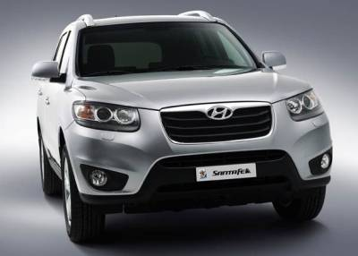Photo:2010 Hyundai Santa Fe front view