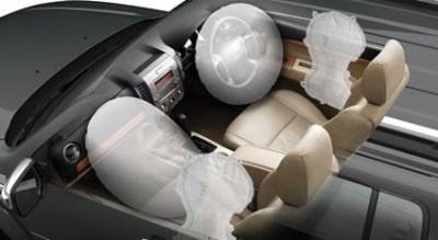 Photo: New Ford Endeavour safety air bags