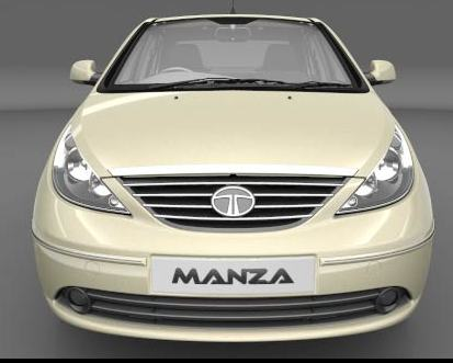 Photo: Tata Indigo Manza, front-on