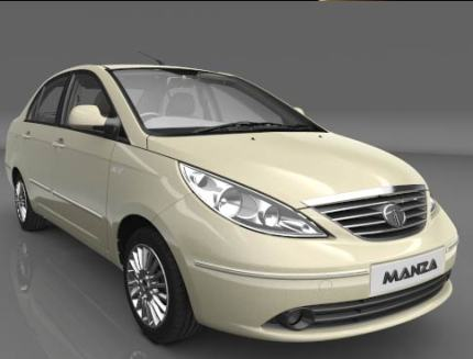 Tata Indigo Manza exterior photo: That bonnet, it is a bit weird..