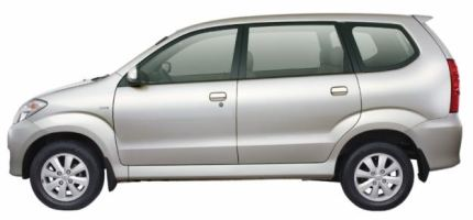 Pic: Toyota Avanza side view