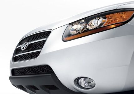 Photo: Hyundai Santa Fe front