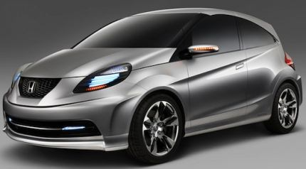 Honda New Small Concept at Auto Expo 2010