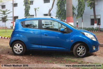 chevrolet beat road test interior phto