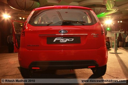 ford figo rear photo