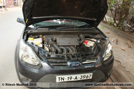 ford figo petrol engine