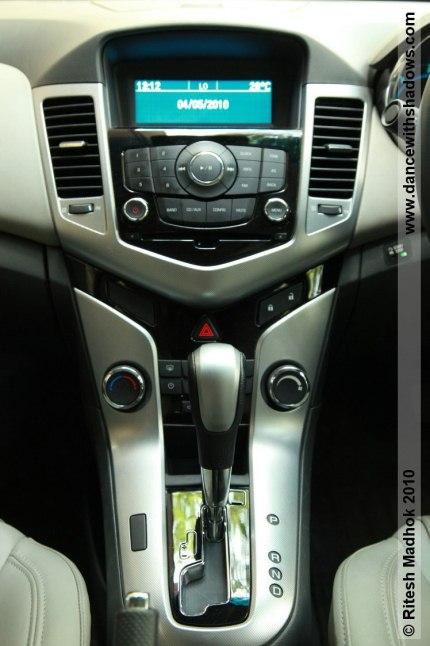 chevrolet cruze automatic gear shift lever photo