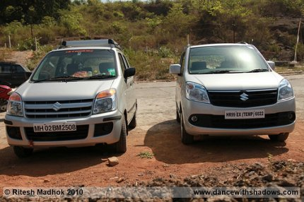 old wagonr and the new one side by side photo