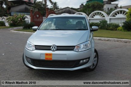 volkswagen polo diesel india road test photo