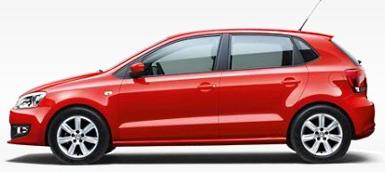 volkswagen polo 1.6 litre petrol photo india