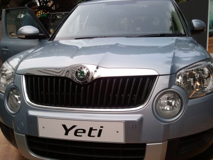 skoda yeti front launch photo