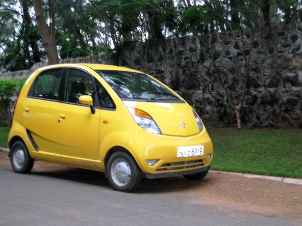 Tata nano road test photo 1