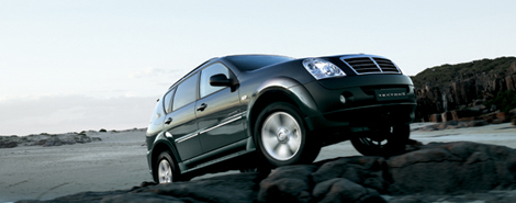 ssangyong rexton india