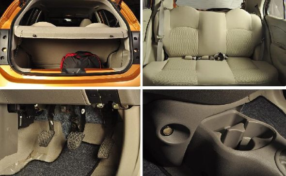 nissan micra boot photos