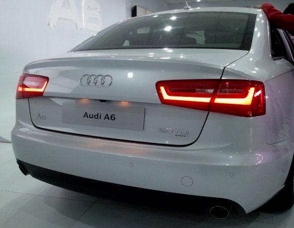 audi a6 rear photo