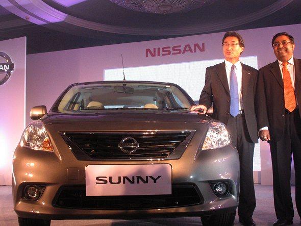Nissan Sunny unveiling at Mumbai