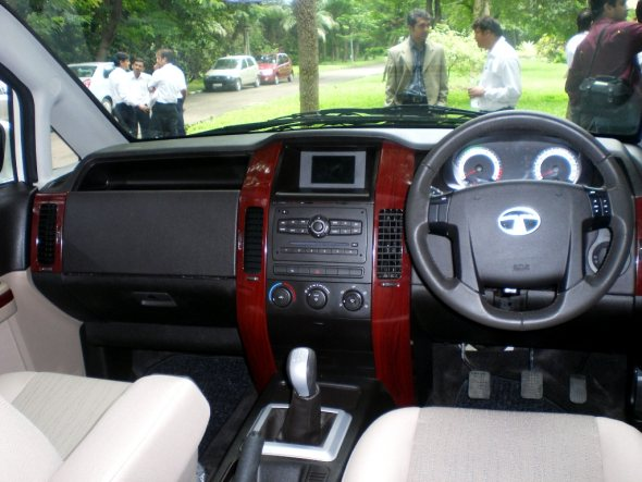 tata aria interior photo