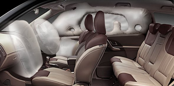 mahindra xuv500 safety abs airbags