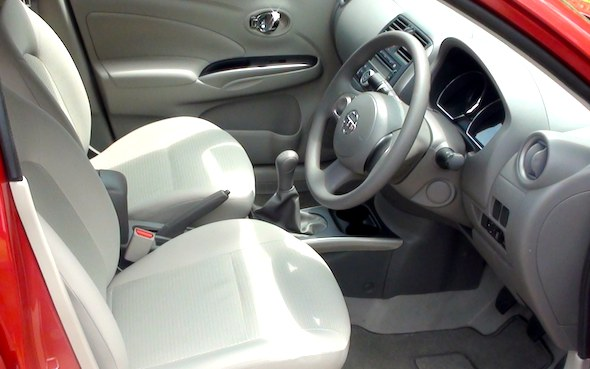 nissan sunny interior front right photo