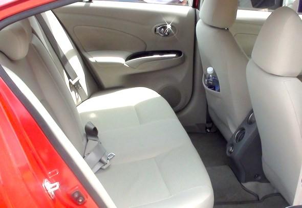nissan sunny interior rear right
