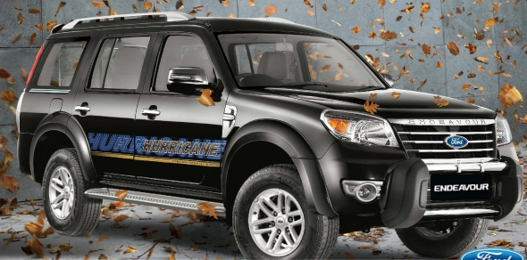 ford endeavour hurricane limited edition photo