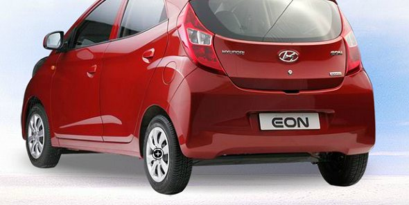 hyundai eon boot photo