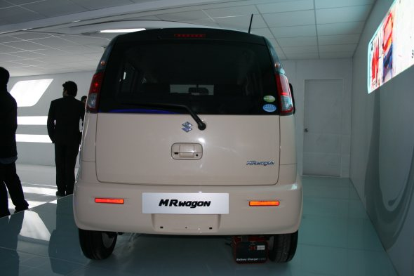 maruti suzuki mr wagon rear photo from auto expo 2012