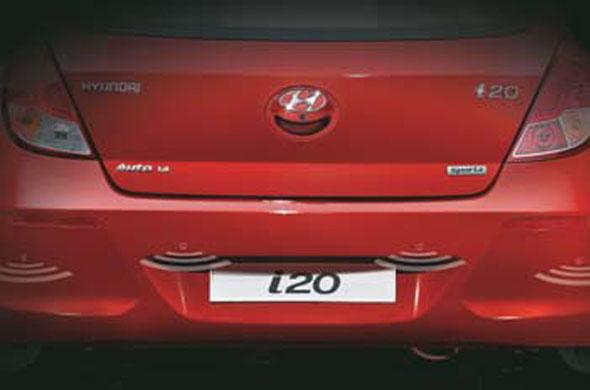 i20 rear parking sensors