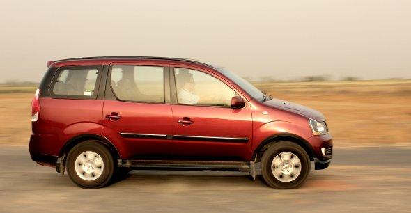 mahindra xylo road test photo