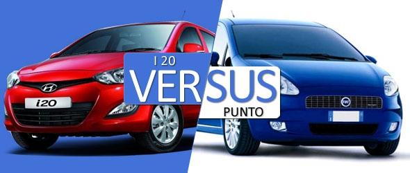 new i20 vs punto