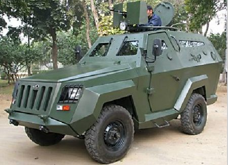 Indian Military Vehicles Which Have A Civilian Variant