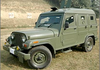 mahindra rakshak photo