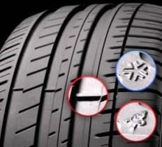tread-tyre wear indicator