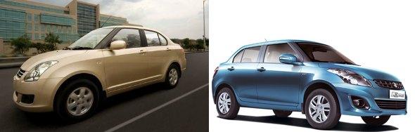 cheapest compact sedans dzire tour and dzire
