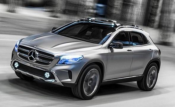 Mercedes Ben GLA Crossover Concept Pic