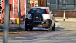 2014 Fiat Punto Cross Spyshot 1