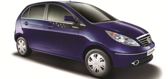 2014 Tata Vista Tech Hatchback Featured