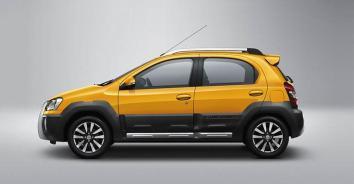 2014 Toyota Etios Cross 5