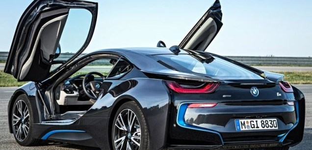 2015 BMW i8 Hybrid Super Car 4