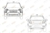2015 Fiat 500X Patent Drawing 2