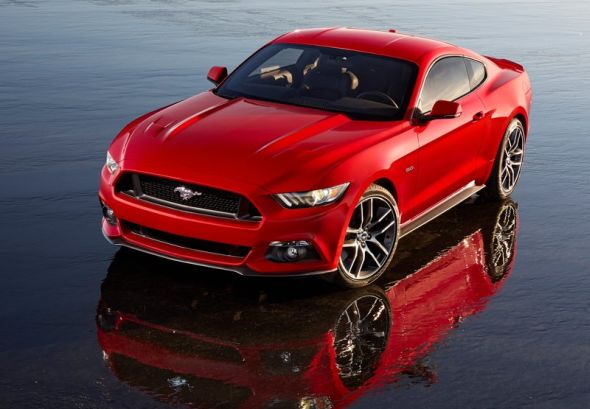 2014 Ford Mustang Muscle Car Image