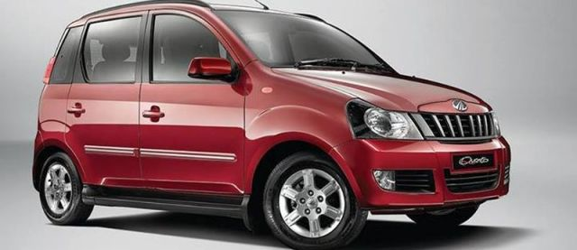 Mahindra Quanto Compact SUV used as an illustration picture