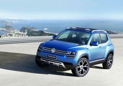 Volkswagen Taigun Compact SUV Concept 5